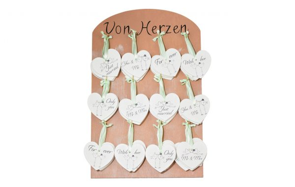 Wooden hearts (Wedding)