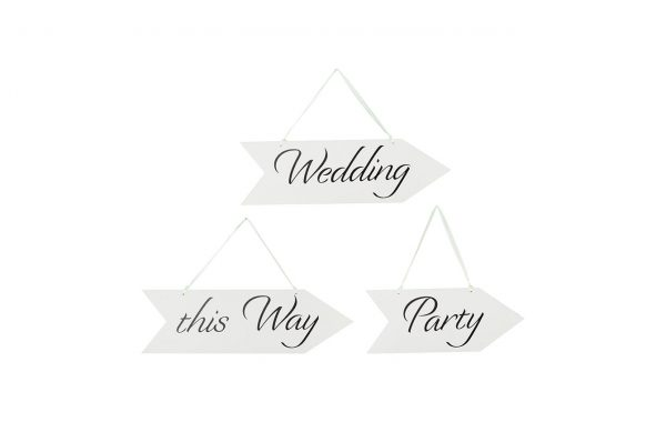 "Wooden Sign ""Wedding"""