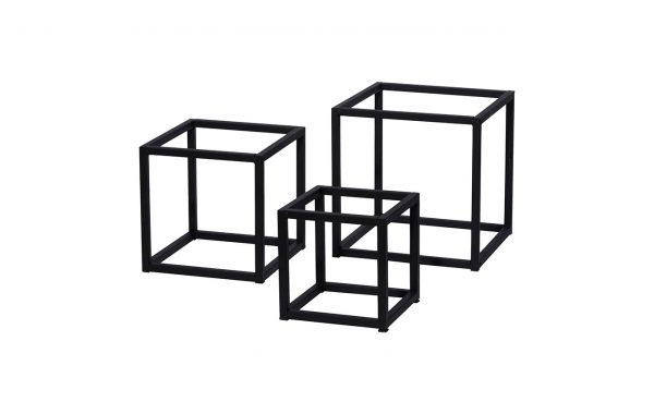 Metal frame set by 3