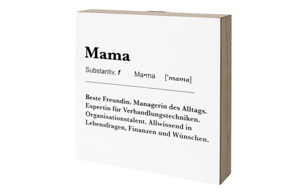 "Deco Board/Hanger ""MAMA"""