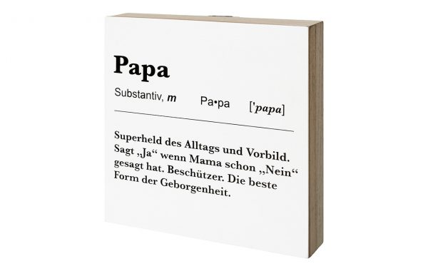 "Deco Board/Hanger ""PAPA"""